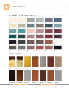 Fiberglass Colors